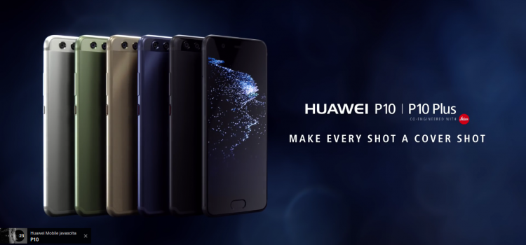 Introducing Huawei P10