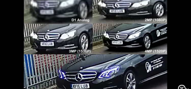 Biztonsági kamerák felbontásának összehasonlítása