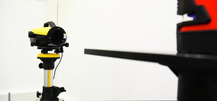 Leica vonal és pontlézerek kalibrálása
