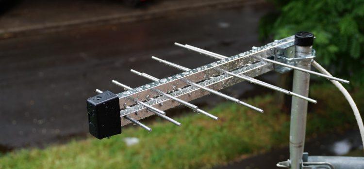 Iskra P-20 UHF LOGPER szélessávú antenna