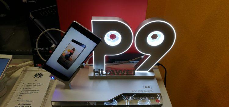 Huawei P9 tartó