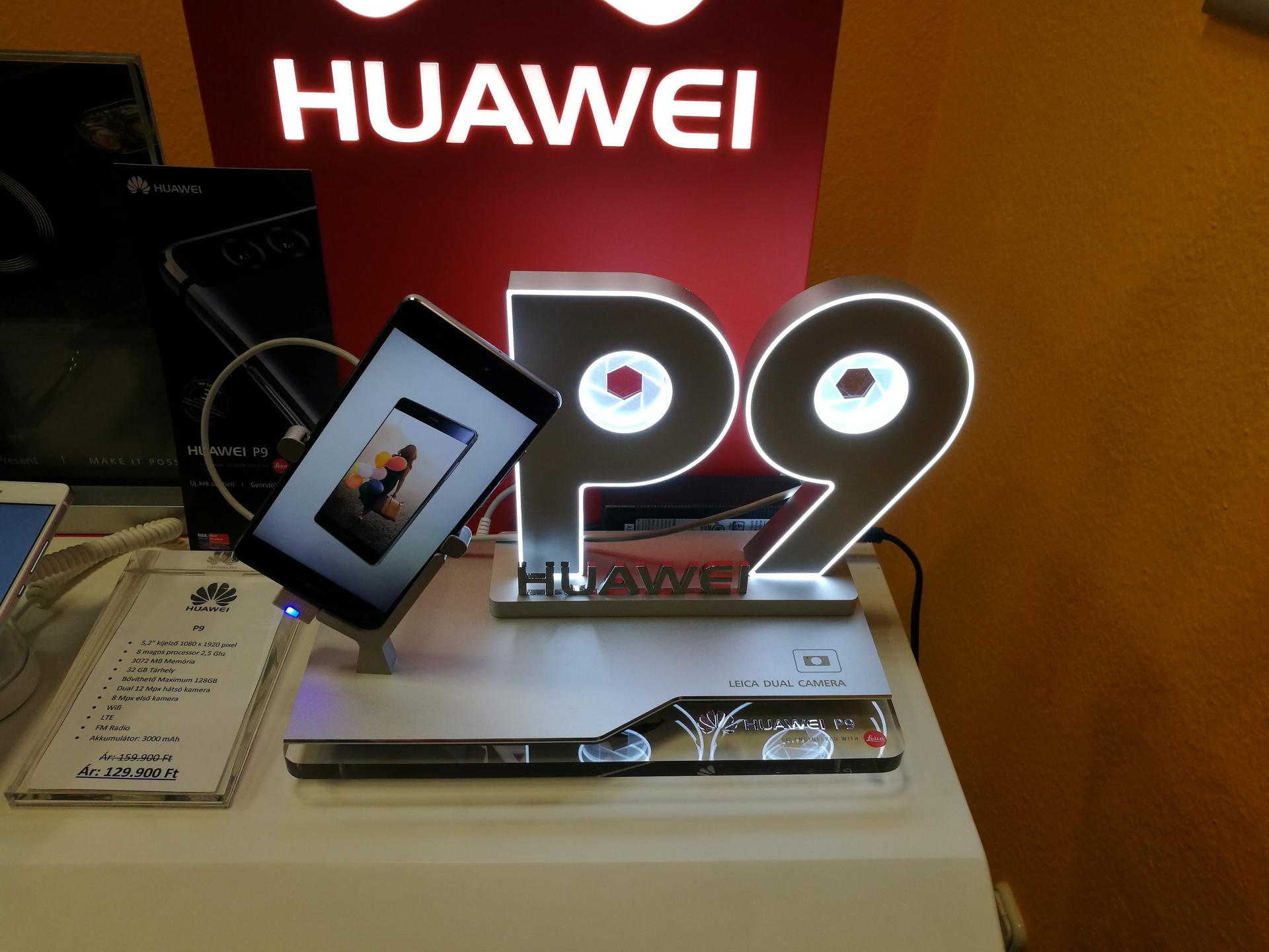 Huawei P9 telefon tartó
