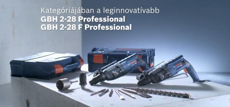 Bosch GBH 2-28 / 2-28 F Professional SDS-plus fúrókalapács