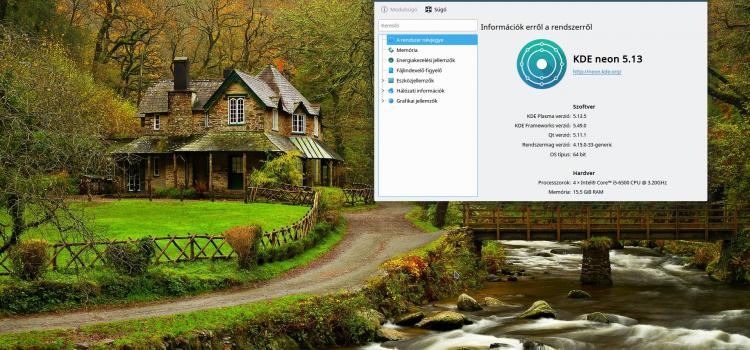 KDE Neon telepítése