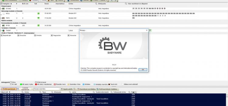 BabyWare 5.2.5