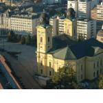 Debrecen városa madártávlatból