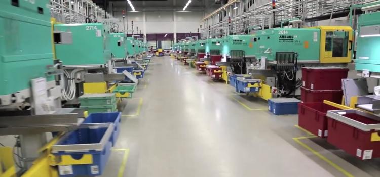 A LEGO gyár belűről
