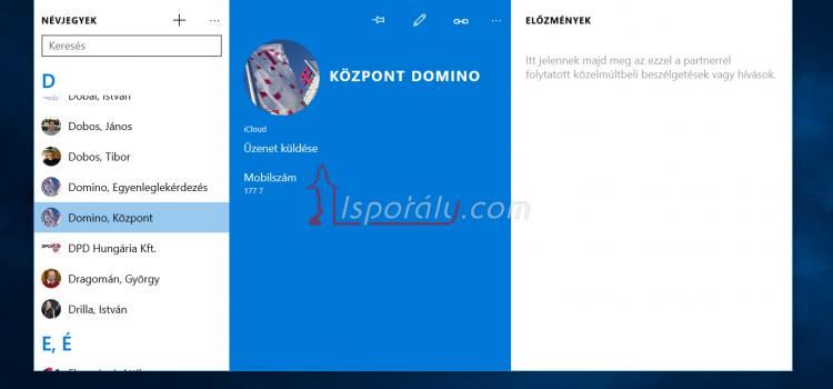 Windows 10 alkalmazások